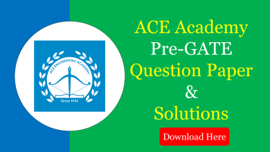 Photo of ACE Pre GATE Question Papers & Solutions