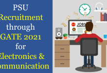 Photo of PSU Recruitment through GATE 2021 for ECE