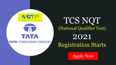 TCS NQT 2021