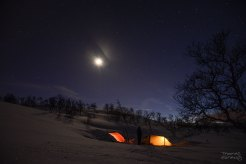 Camp by night
