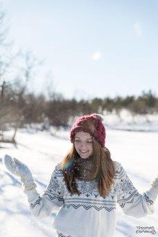 Vinterporträtt