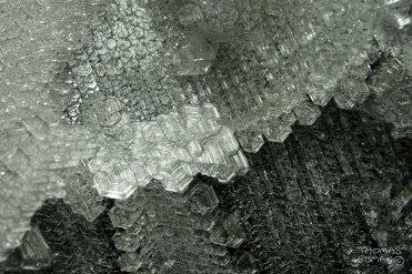 Olika kristallformationer