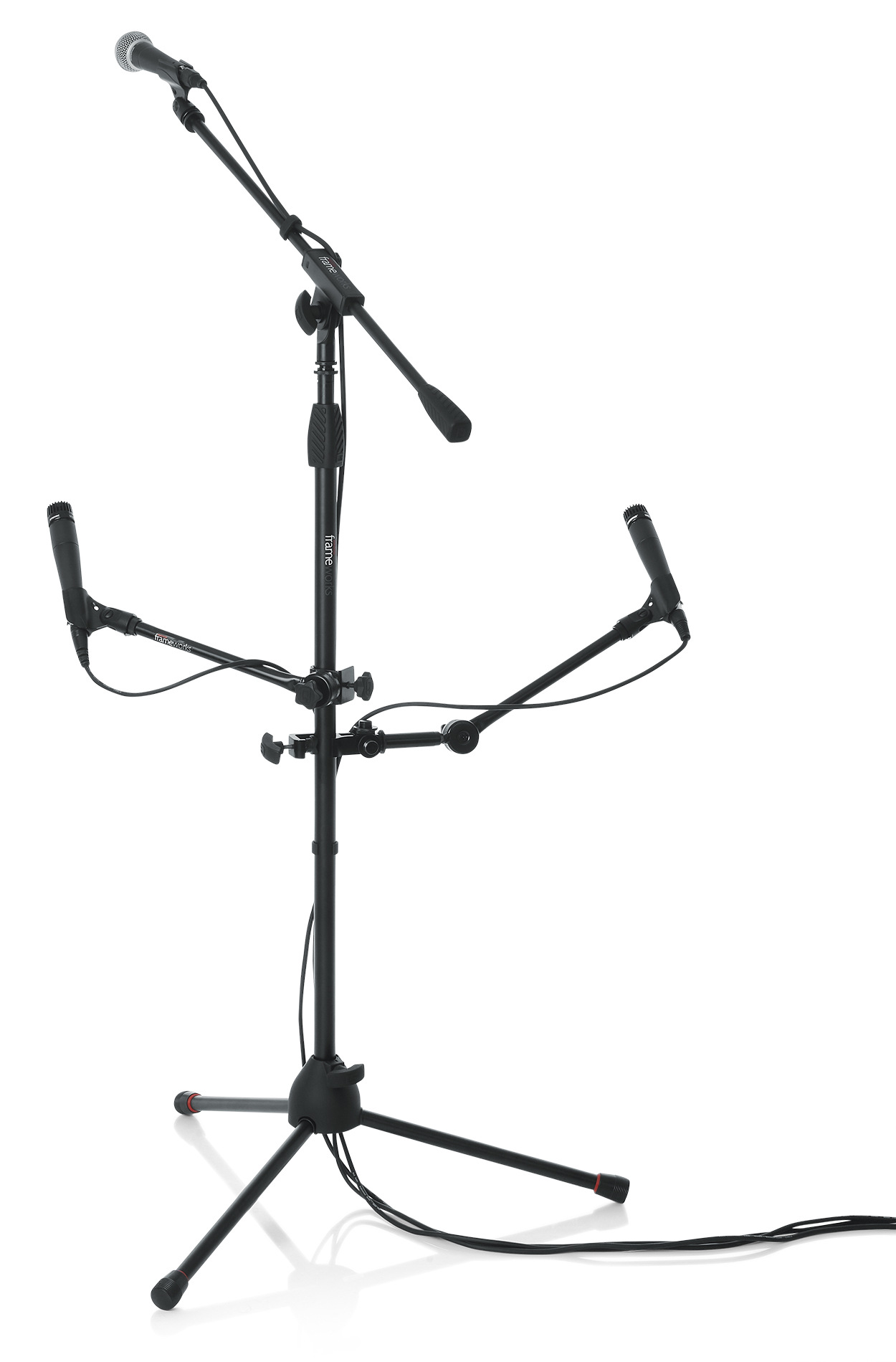Four Accessory Microphone Stand Mount Gfw Mic Multimount