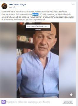 Read more about the article Enfin un appel pour une Police Républicaine au côté du peuple travailleur !