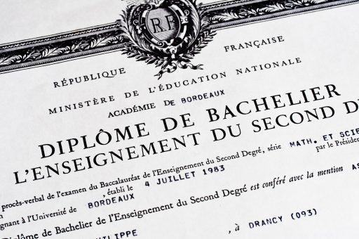 baccalauréat, diplôme second degré éducation nationale