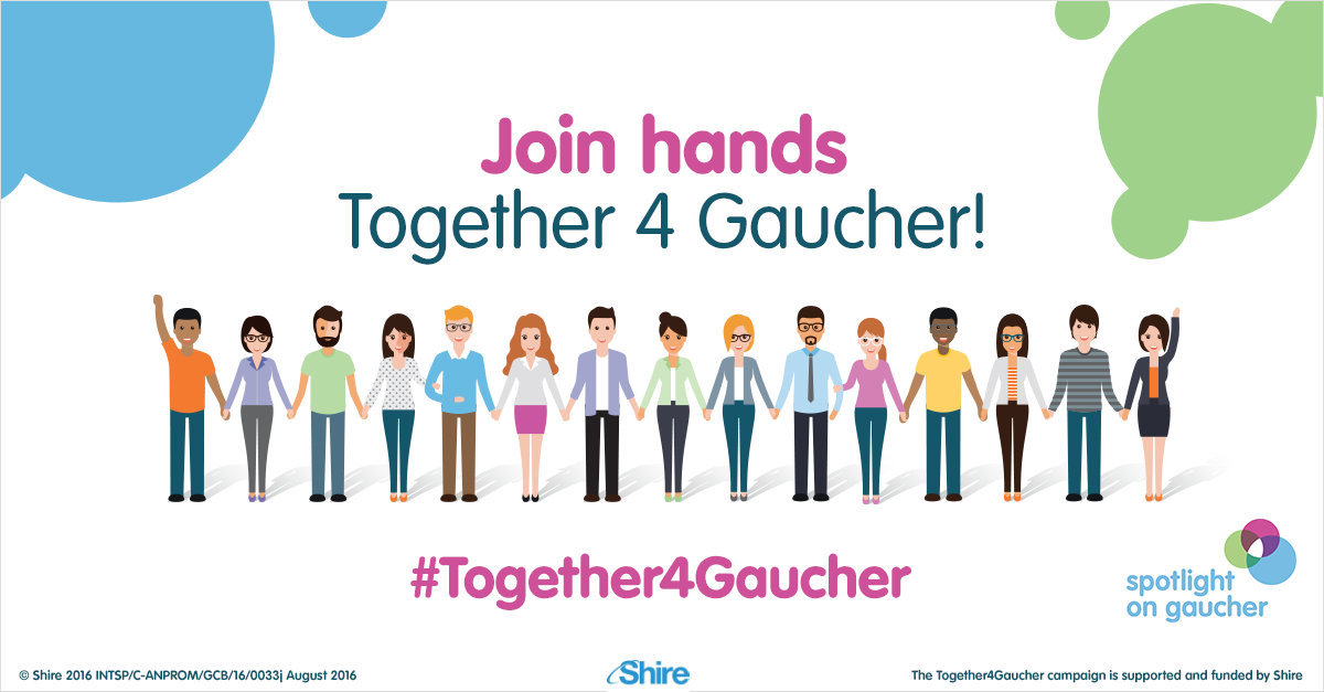 #Together4Gaucher