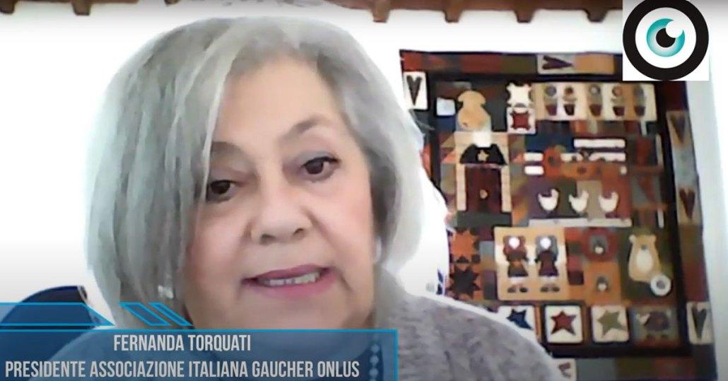 Gaucher, coronavirus e l'importanza della terapia domiciliare. Fernanda Torquati, Presidente Associazione Italiana Gaucher