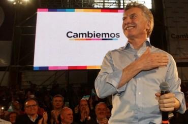 mauricio macri candidato presidente elezioni argentina 2019