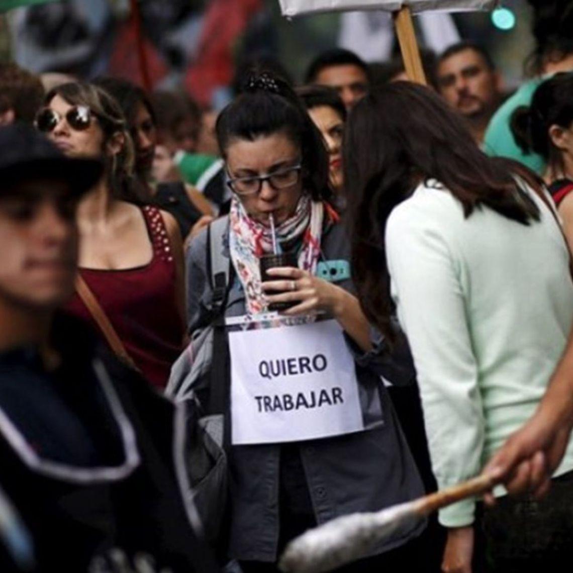 crisi argentina 2019 disoccupazione