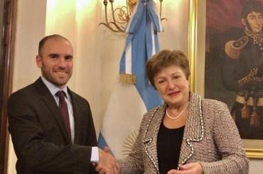 debito argentina fmi ristrutturazione guzman georgieva