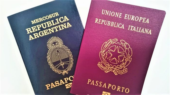 passaporto italiano argentina