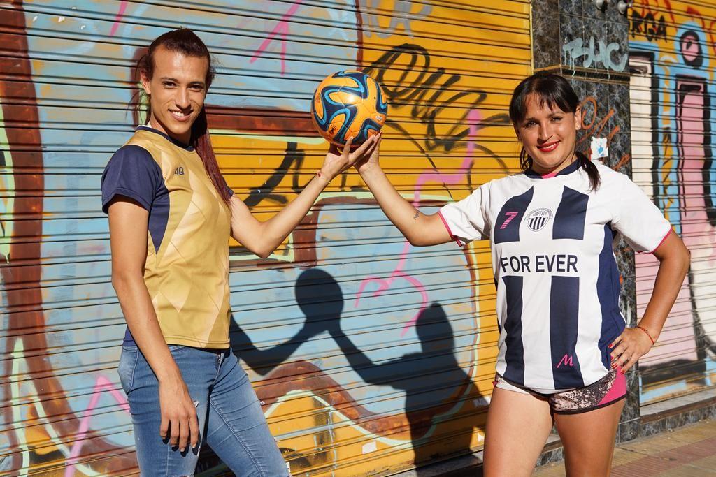 mara gómez transessuale serie a femminile argentina