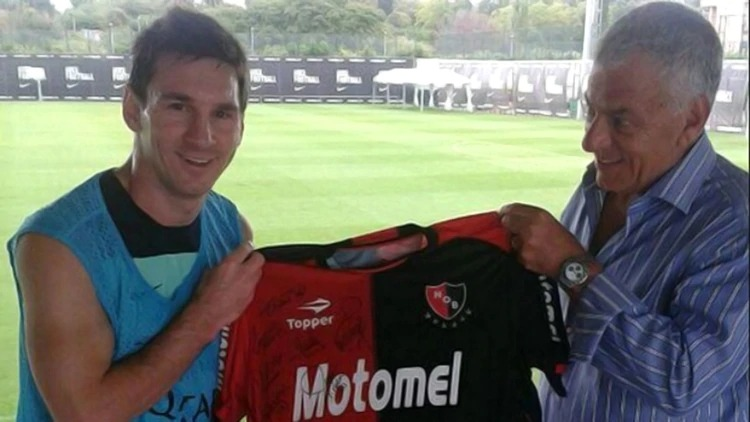 leo messi newell's old boys