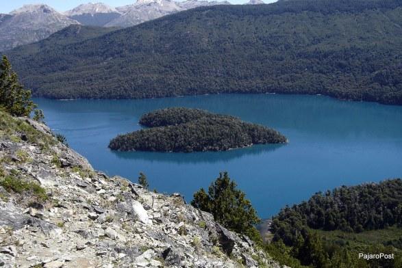 patagonia argentina bariloche isola cuore Piuké Huapí