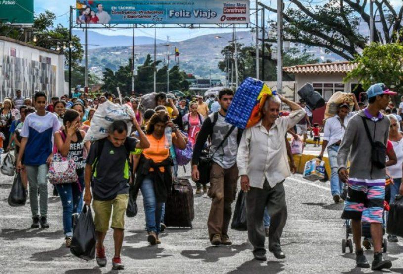 l'esodo dal venezuela