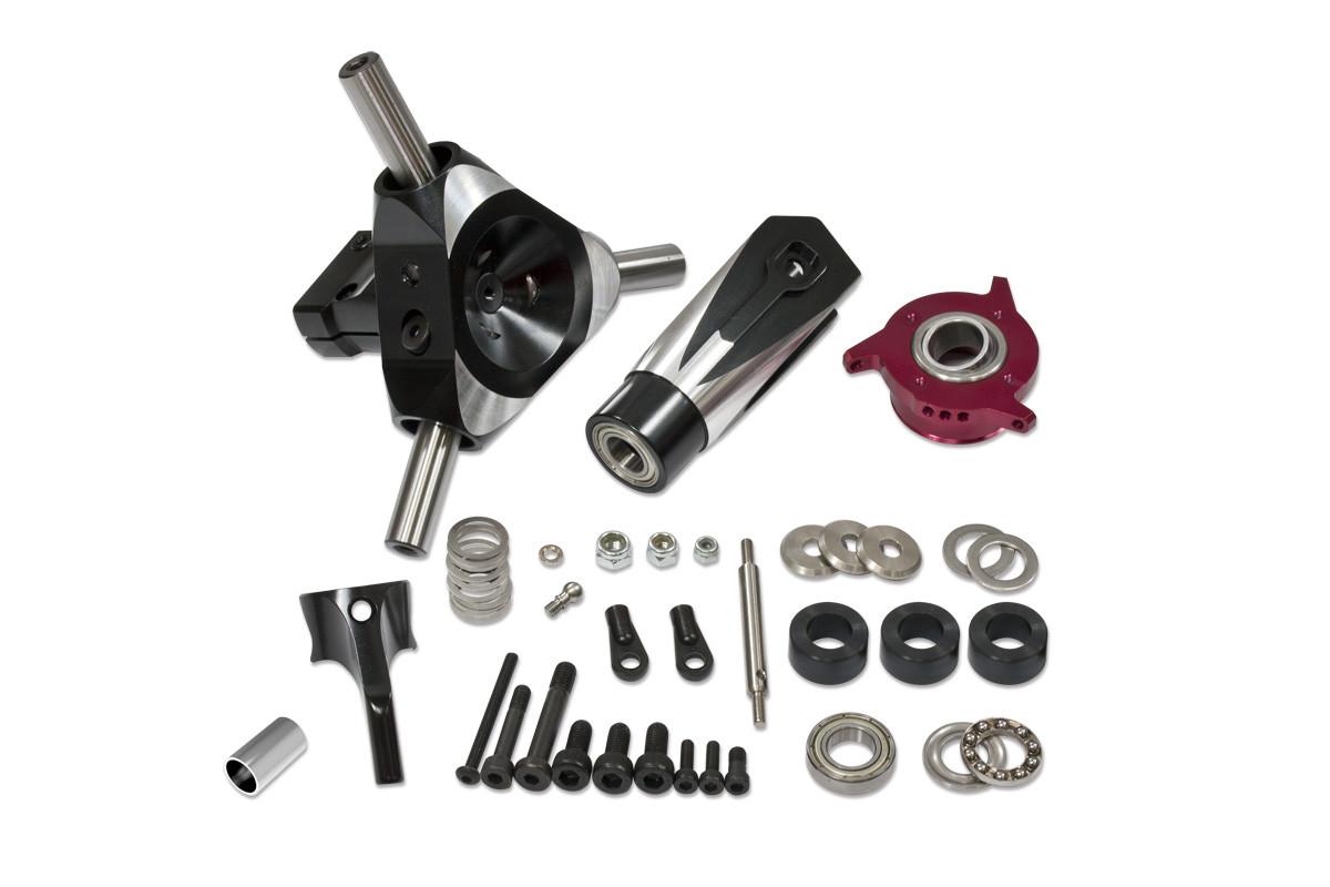 Cnc 3 Blades Rotor Head Upgrade Kit For X7 Nx7