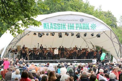 Klassik im Park mit Gauss friends
