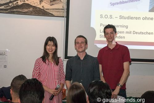 Awarding: Certificates of the Gauss Buddy Program