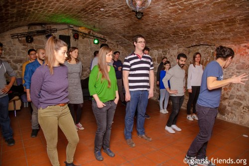 International dance course