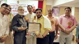 साहित्य और पत्रकारिता के लिए पंकज को मिला रामप्रसाद बिस्मिल सम्मान