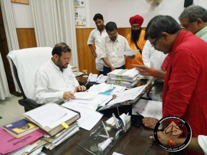 महेश चंद्र गुप्ता ने दिया सरप्राइज, सुरेश खन्ना ने की सीवर लाइन की संस्तुति