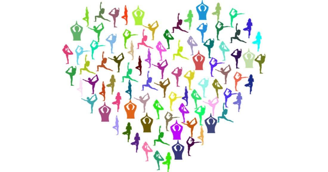 יוגה יכולה לתרום גם לבריאות הלב