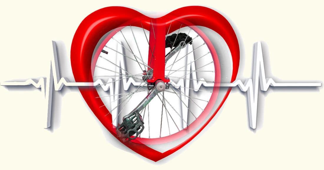 רכיבה על אופניים מונעת מחלות לב