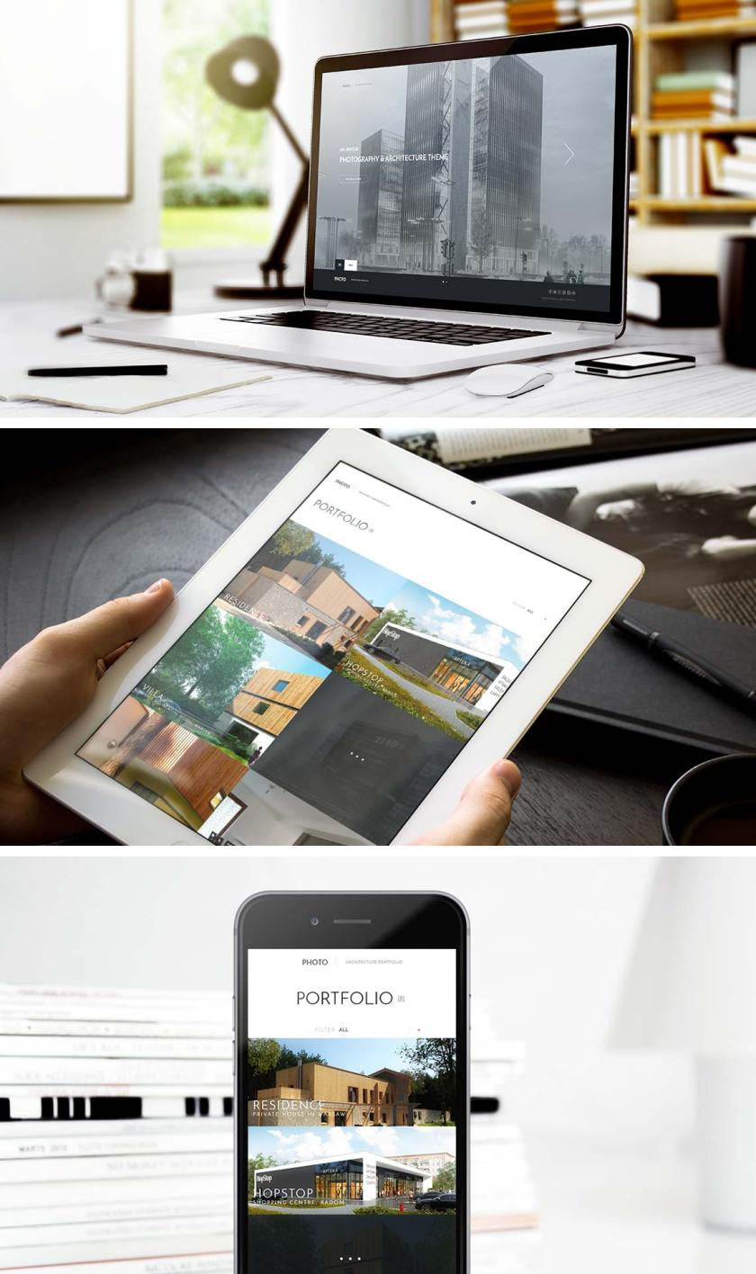 Photo - Architecture WordPress Theme from GavickPro