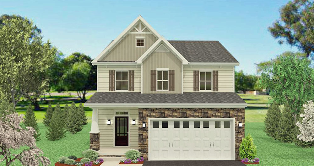 Custom House Plans Available in Southeastern Pennsylvania Gavin Construction House Plans for The Ashbrooke Model