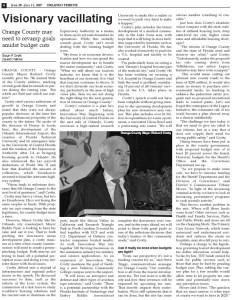 Orlando Tribune Visionary Vacillating 2007 Gavin P Smith