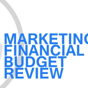 Gavin Consulting - Integrated Marketing Budget Review