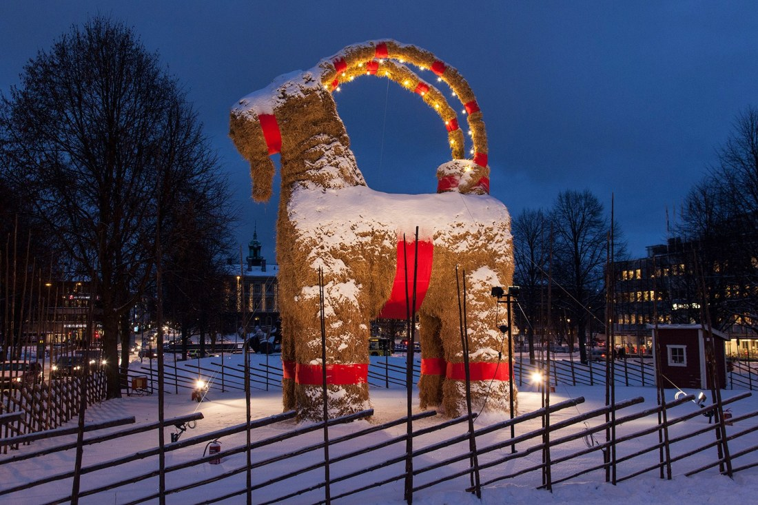 Bildresultat för julbock gävle