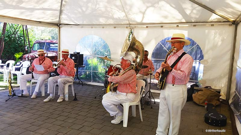 The Jazz Festival about town