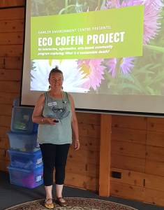 Eco Coffin Project: Week 1 - Pushing Up Daisies Workshop