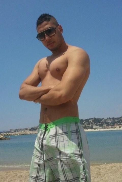 rebeu à la plage