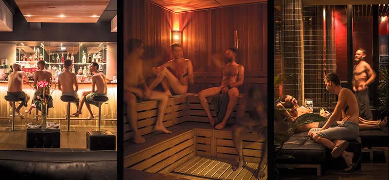 Nieuwezijds gay sauna in Amsterdam