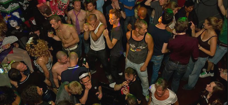 BLUE @ Club Church gay club Amsterdam