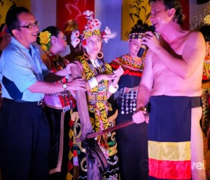 Cultural show on the launch of Tourism Malaysia Domestic Sale Mission – Kuching, Sarawak