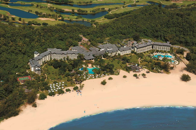 Shangri-La's Rasa Ria Resort is set on Pantai Dalit beach surrounded by 400 acres of lush tropical vegetation, including a unique nature reserve.
