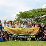 A group photo at the first location of KCC1M Pahang