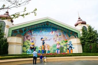 The atmosphere was similar to Disneyland