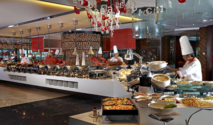 Tempting selection of lavish treats at B's Restaurant this mother's day.