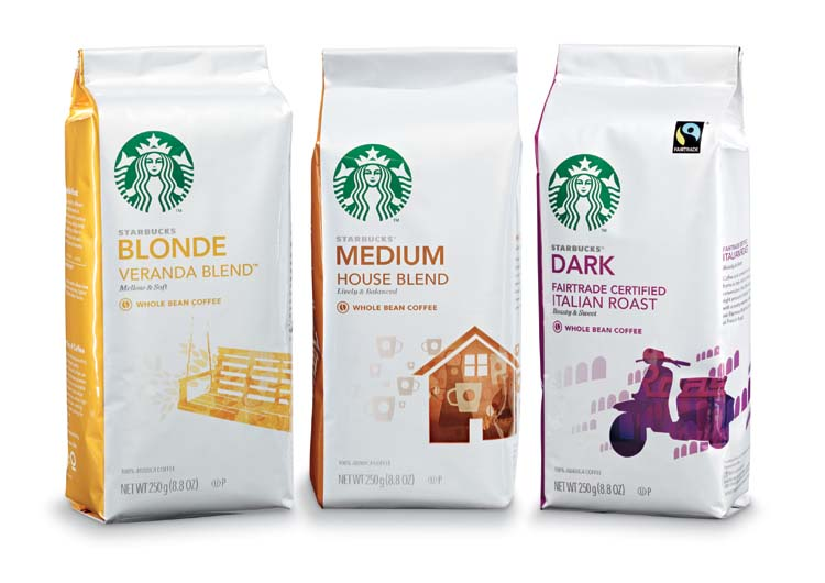 The new Starbucks® Blonde Roast is an opportunity to reach a new category of coffee drinker