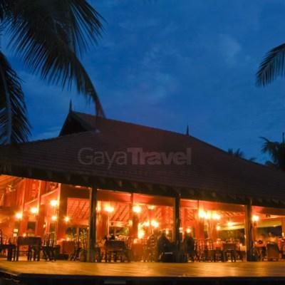Merang Restaurant at night