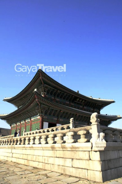 Gyeongbokgung Palace,former imperial palace of many Korean emperors