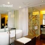 Bathroom inside Thistle Port Dickson Resort