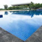 The pool of Four Points by Sheraton