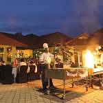 Barbecue in the open air