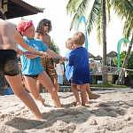 Sand Island ismainly for kids activities