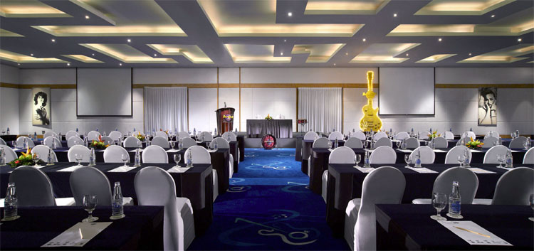 For a different settings for fuctions, Hard Rock Hotel Bali is the venue